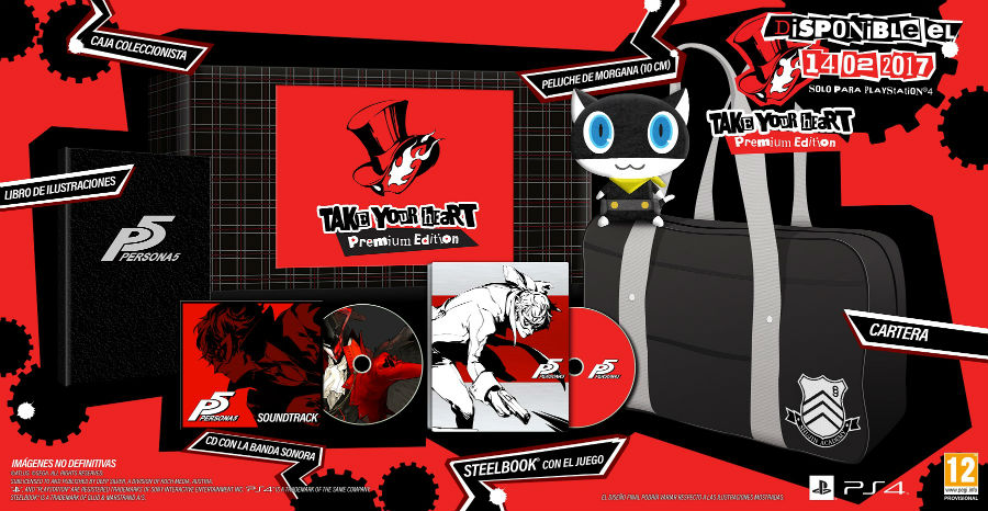 Persona 5 Edición Especial