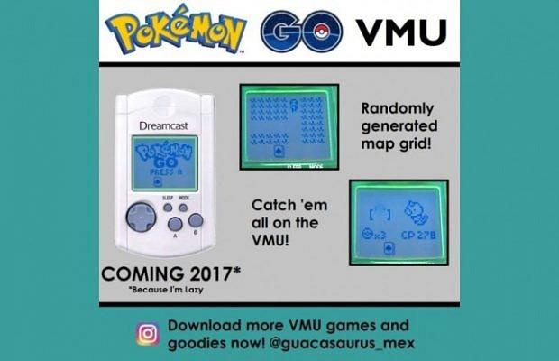 Pokémon GO Dreamcast