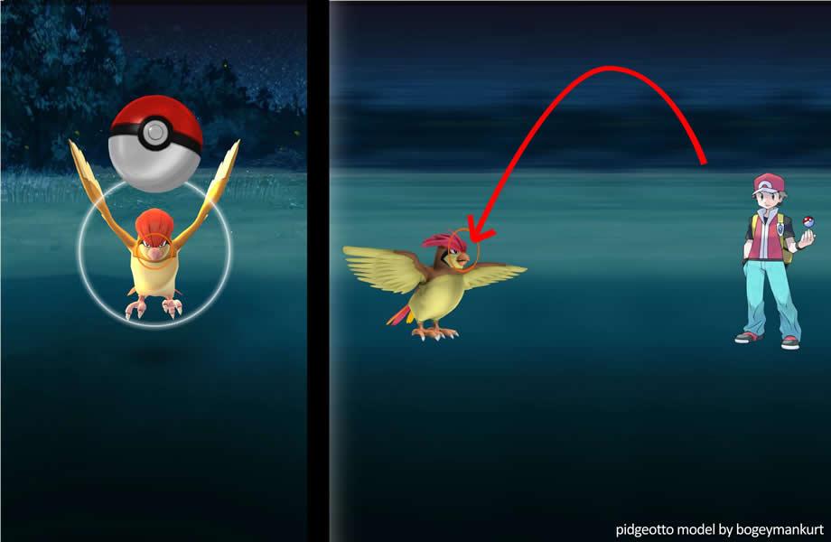 Pokémon GO - Tiro Alto