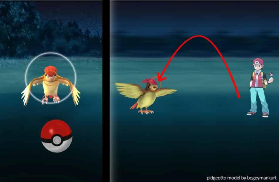 Pokémon GO - Tiro Bajo