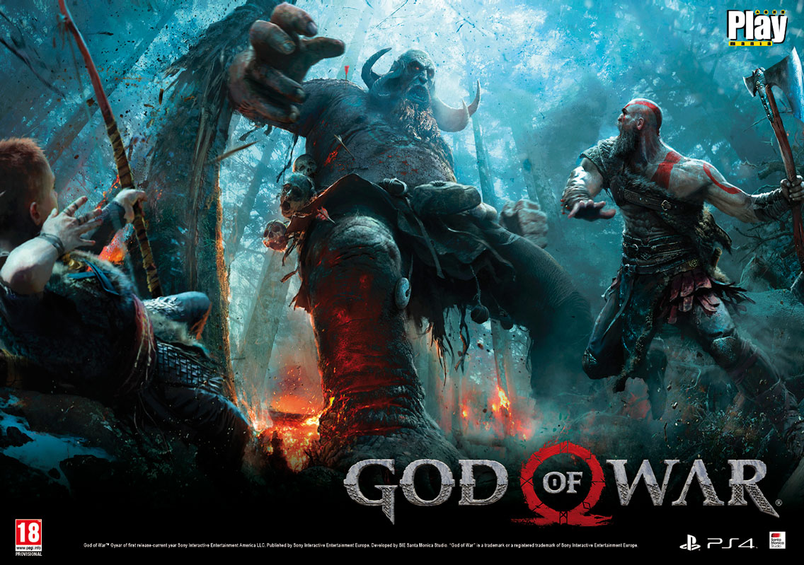 poster God of War en Playmania 214