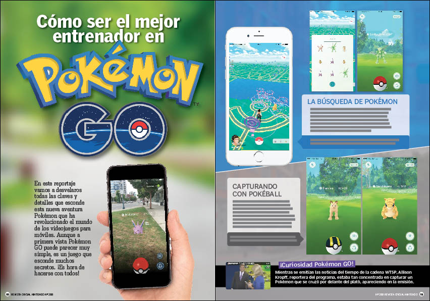 Reportaje: Cómo triunfar en Pokémon GO.