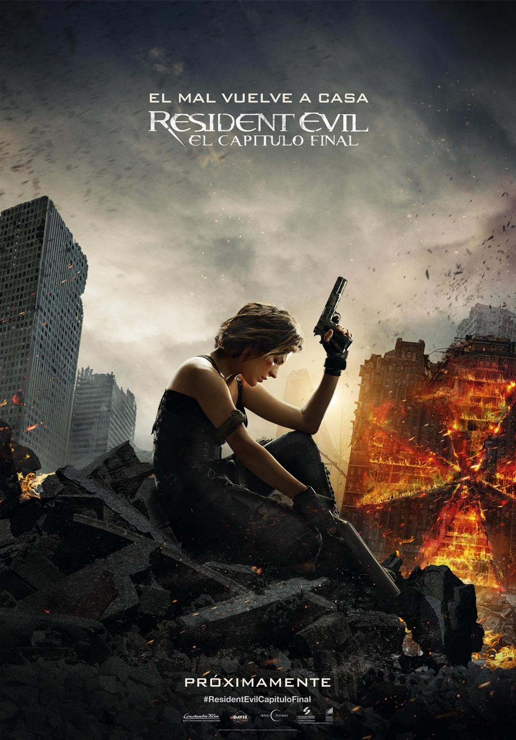 Póster Resident Evil: Capítulo Final