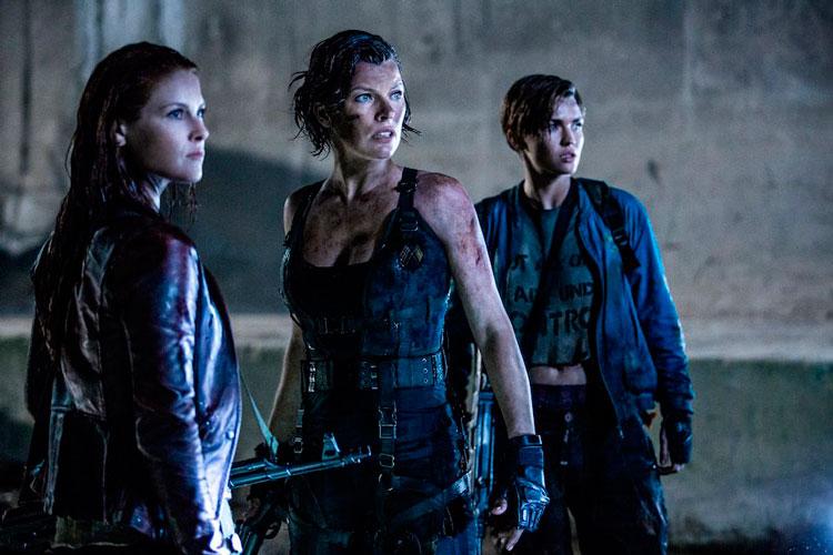 Alice, Claire y Abigail
