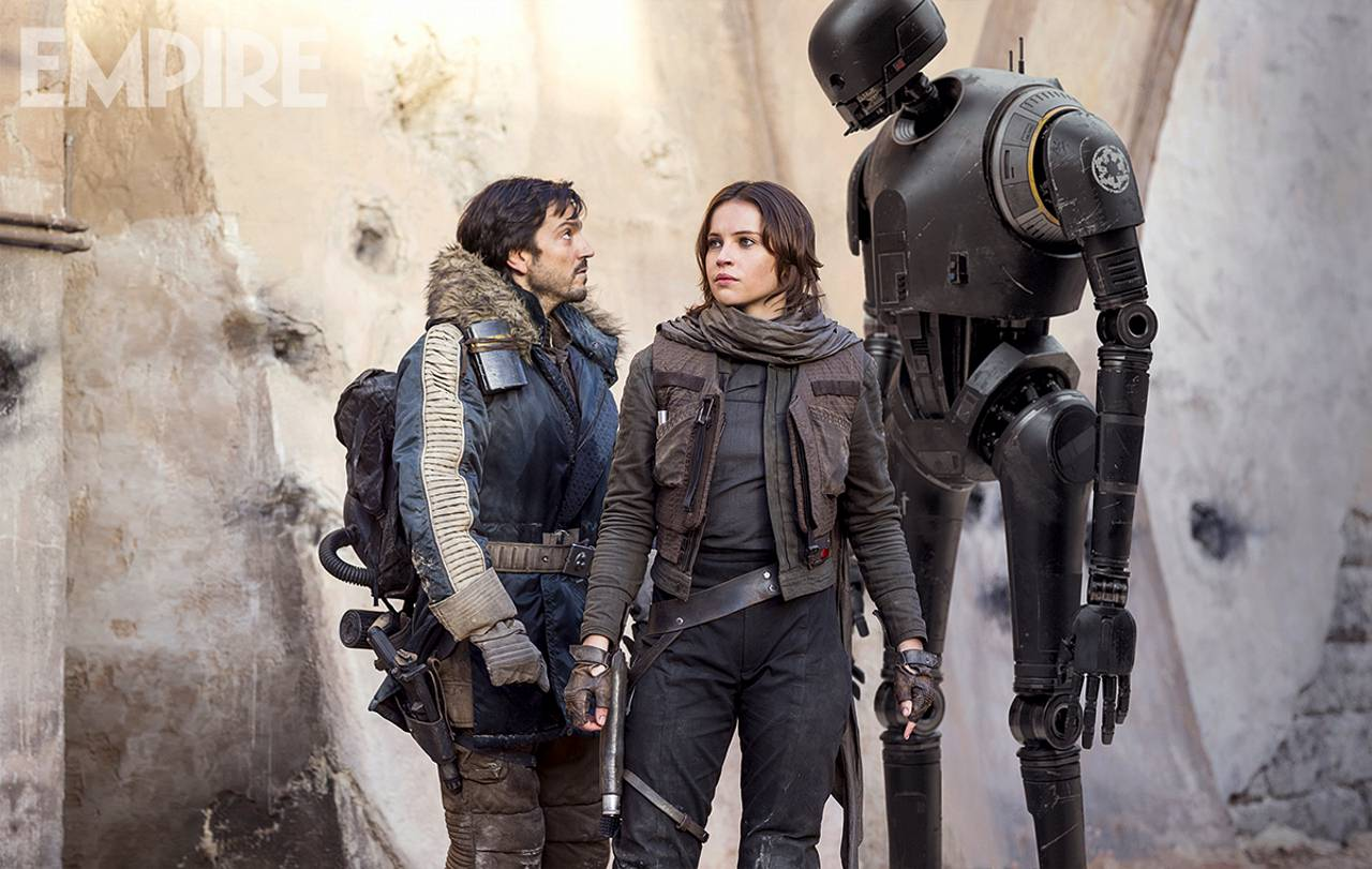 Jyn Erso Cassian Andor K-2SO