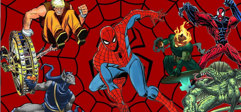Spider-man villanos raros