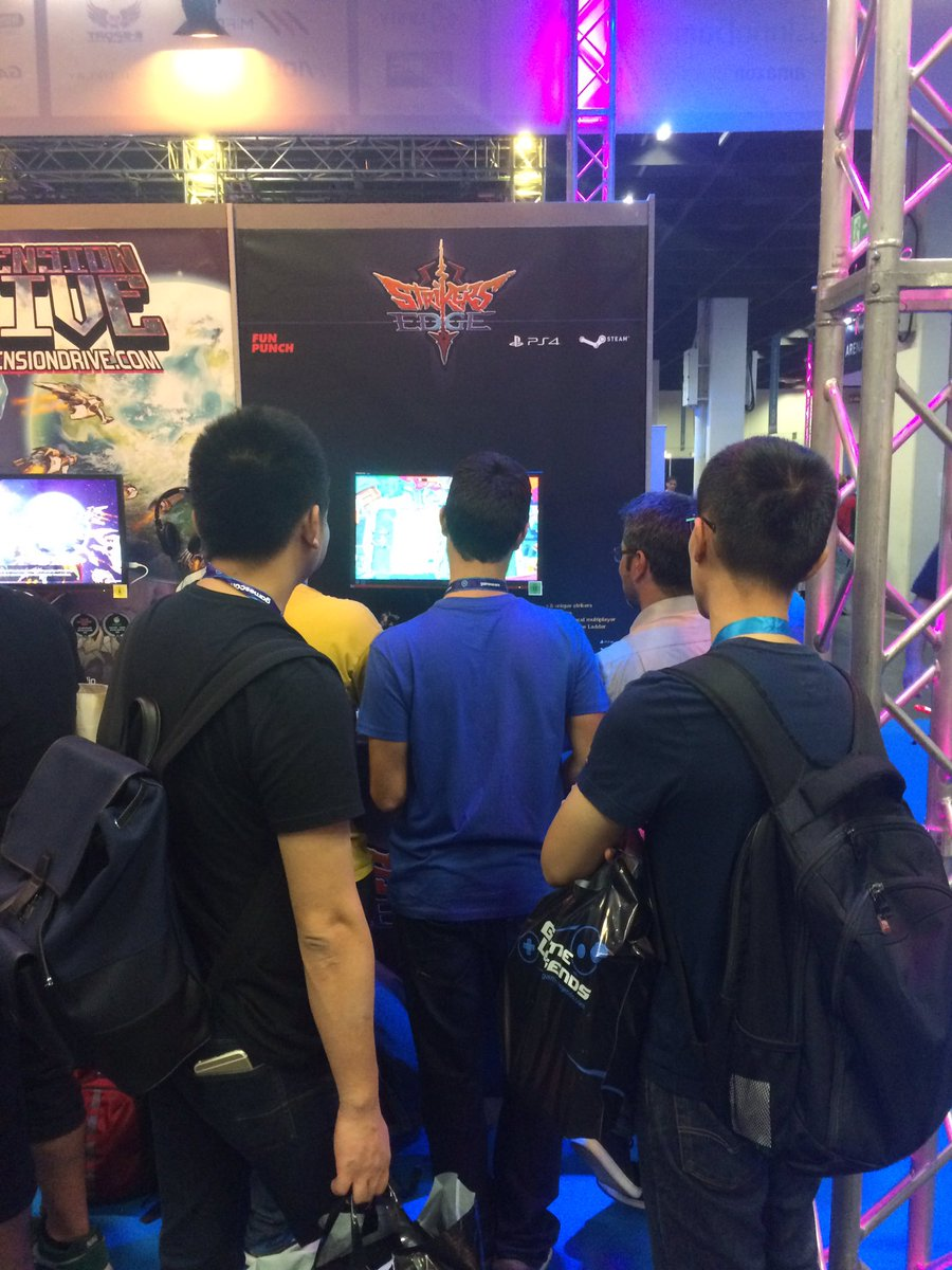 Strikers Edge Gamescom