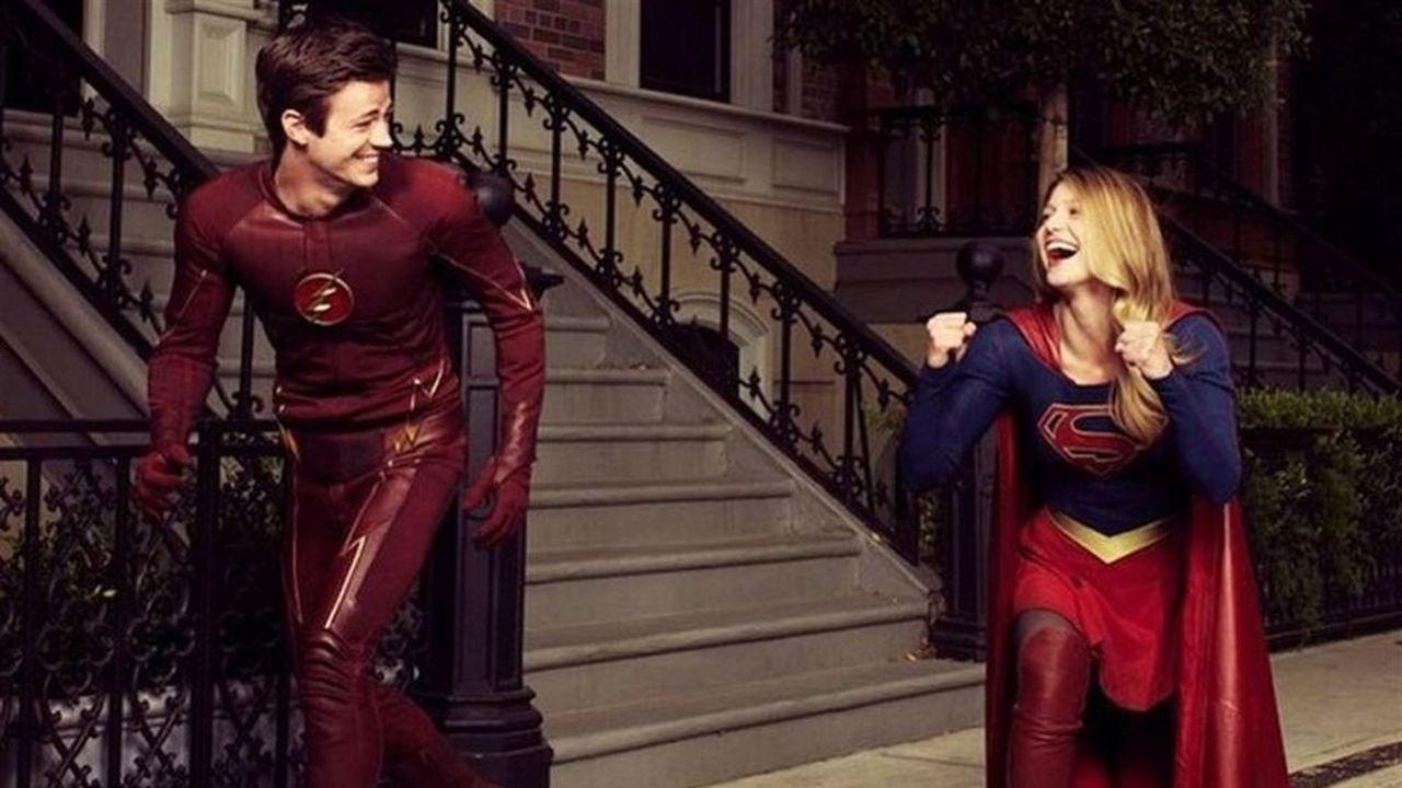 Supergirl y Flash