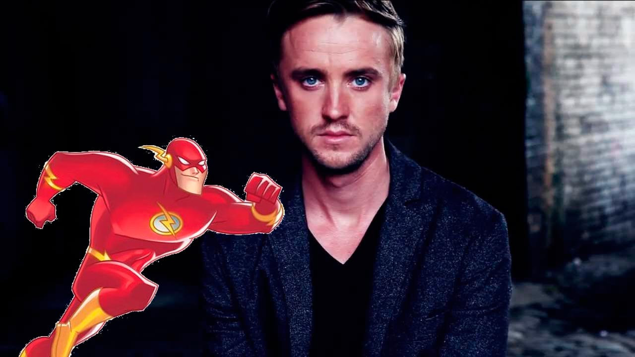 Tom Felton en The Flash