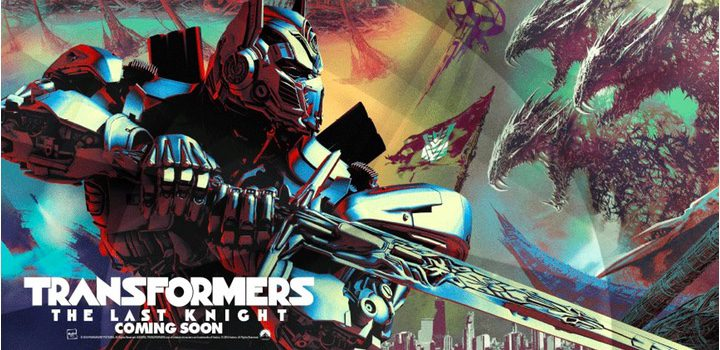Transformers: The last knight primer póster oficial