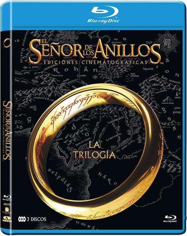 trilogía el señor de los anillos pack DVD