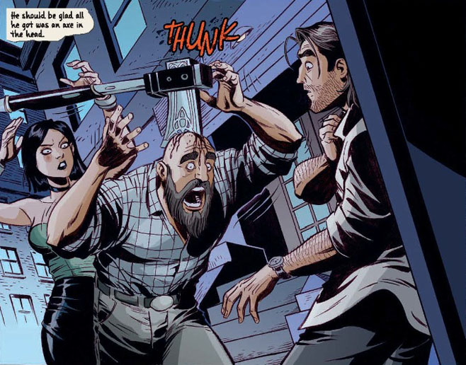 The Wolf Among Us comic