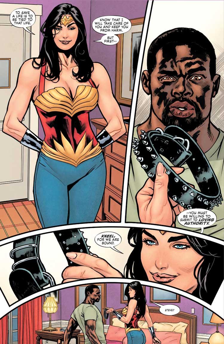 Wonder Woman Tierra Uno bondage