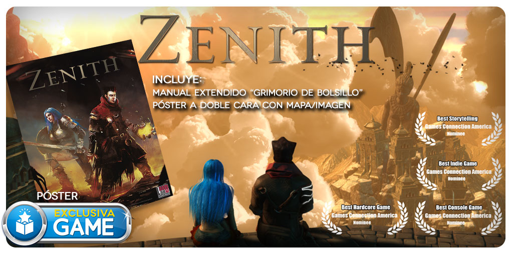 Zenith con regalo en GAME