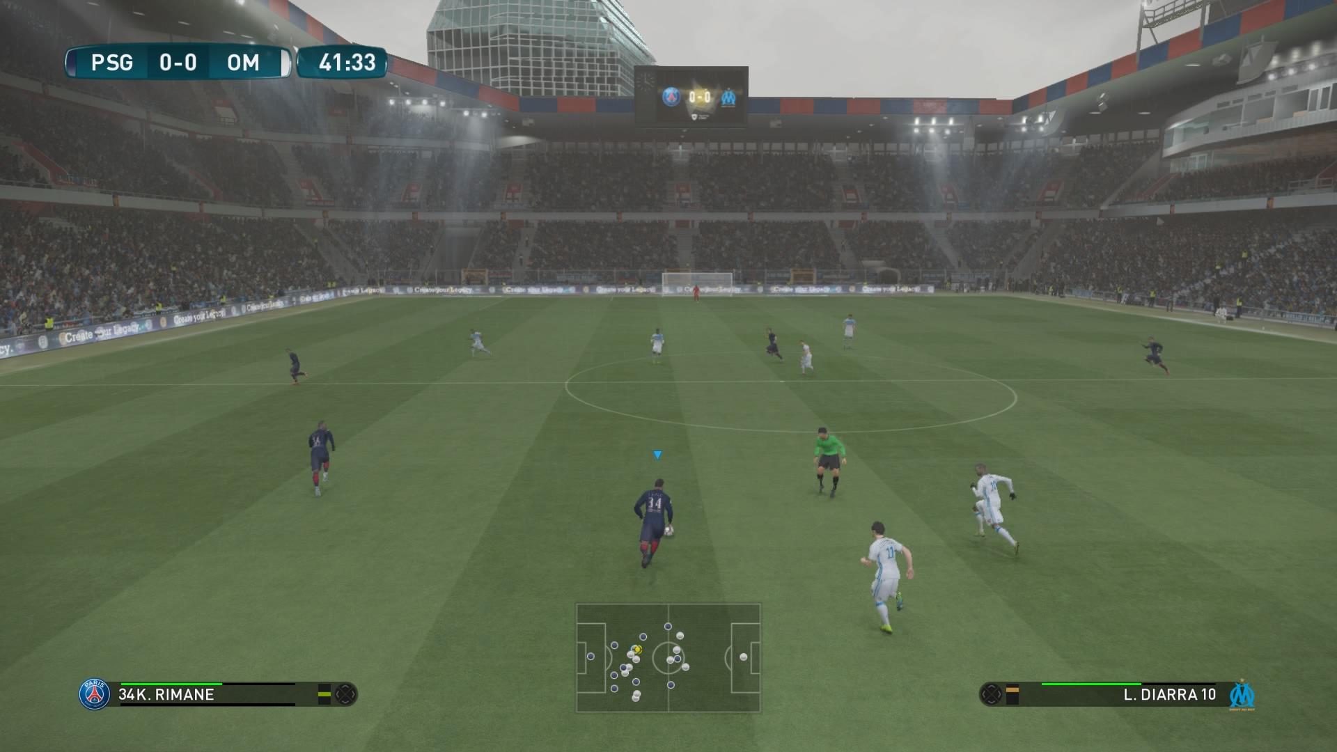 PES 2017 - Análisis del juego de fútbol para PS4 1468891180551