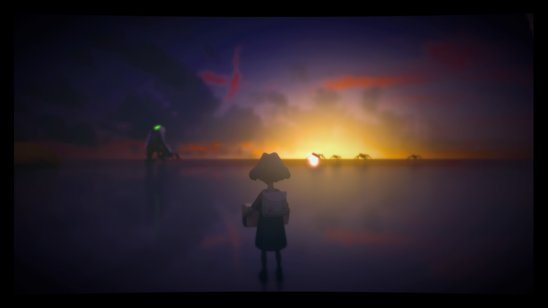 Análisis The Tomorrow Children atardecer