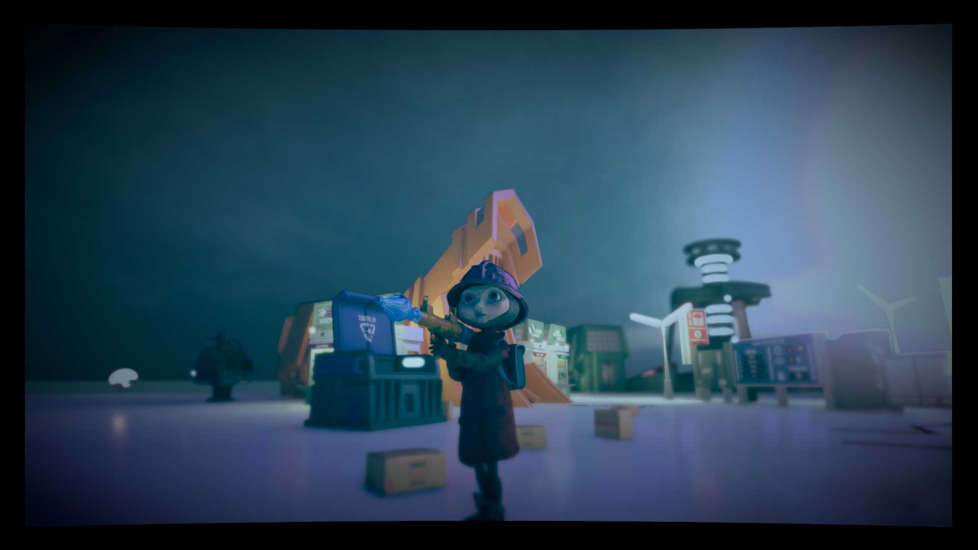Análisis The Tomorrow Children Lanzagranadas
