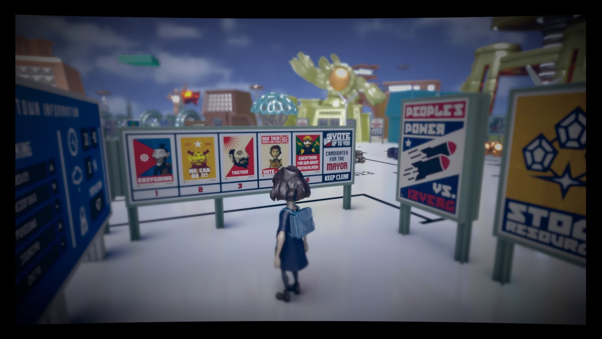Análisis The Tomorrow Children propaganda