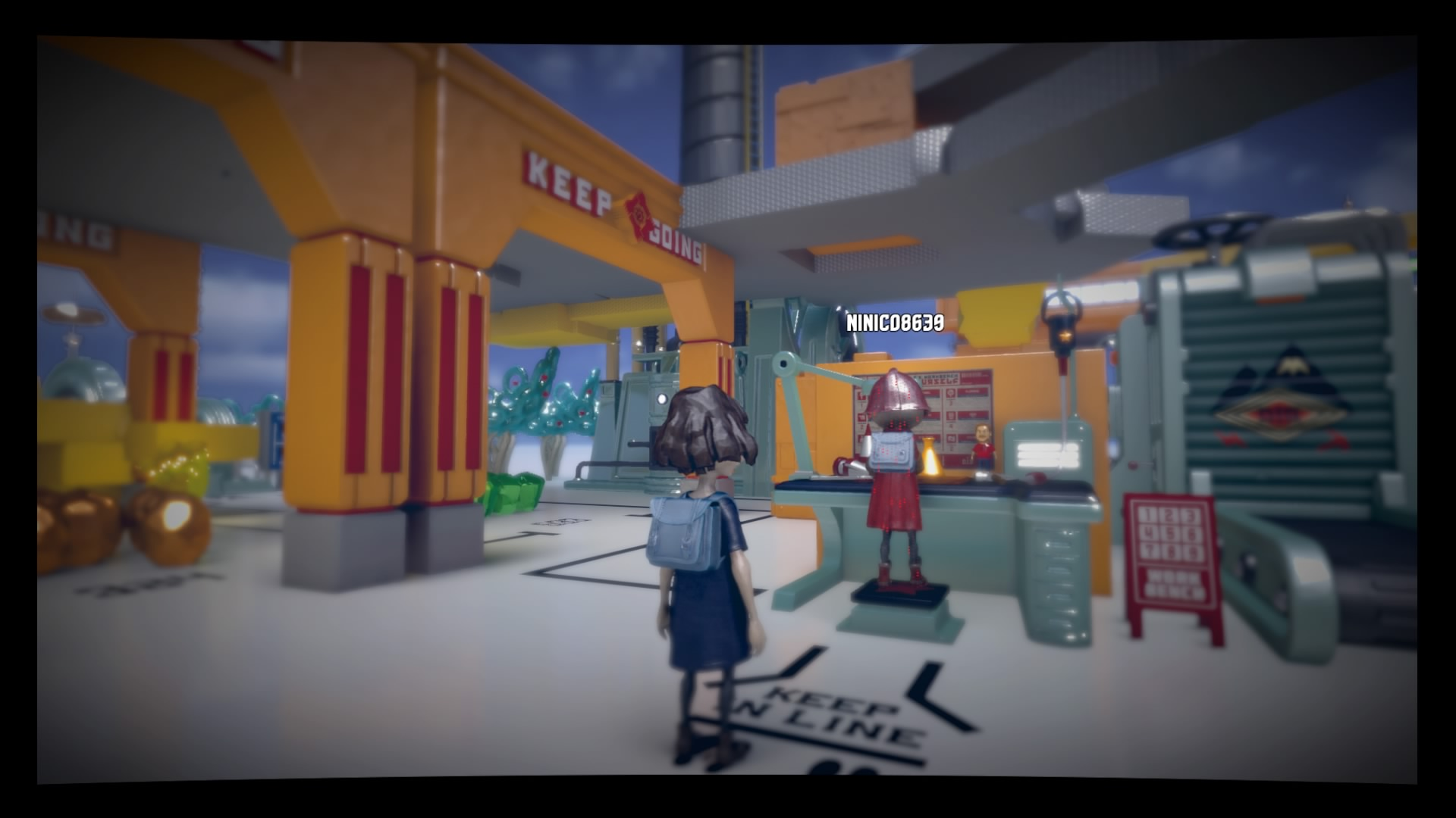 Análisis The Tomorrow Children colas