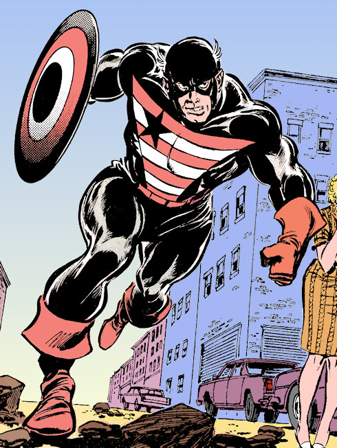 El Capitán - Steve Rogers