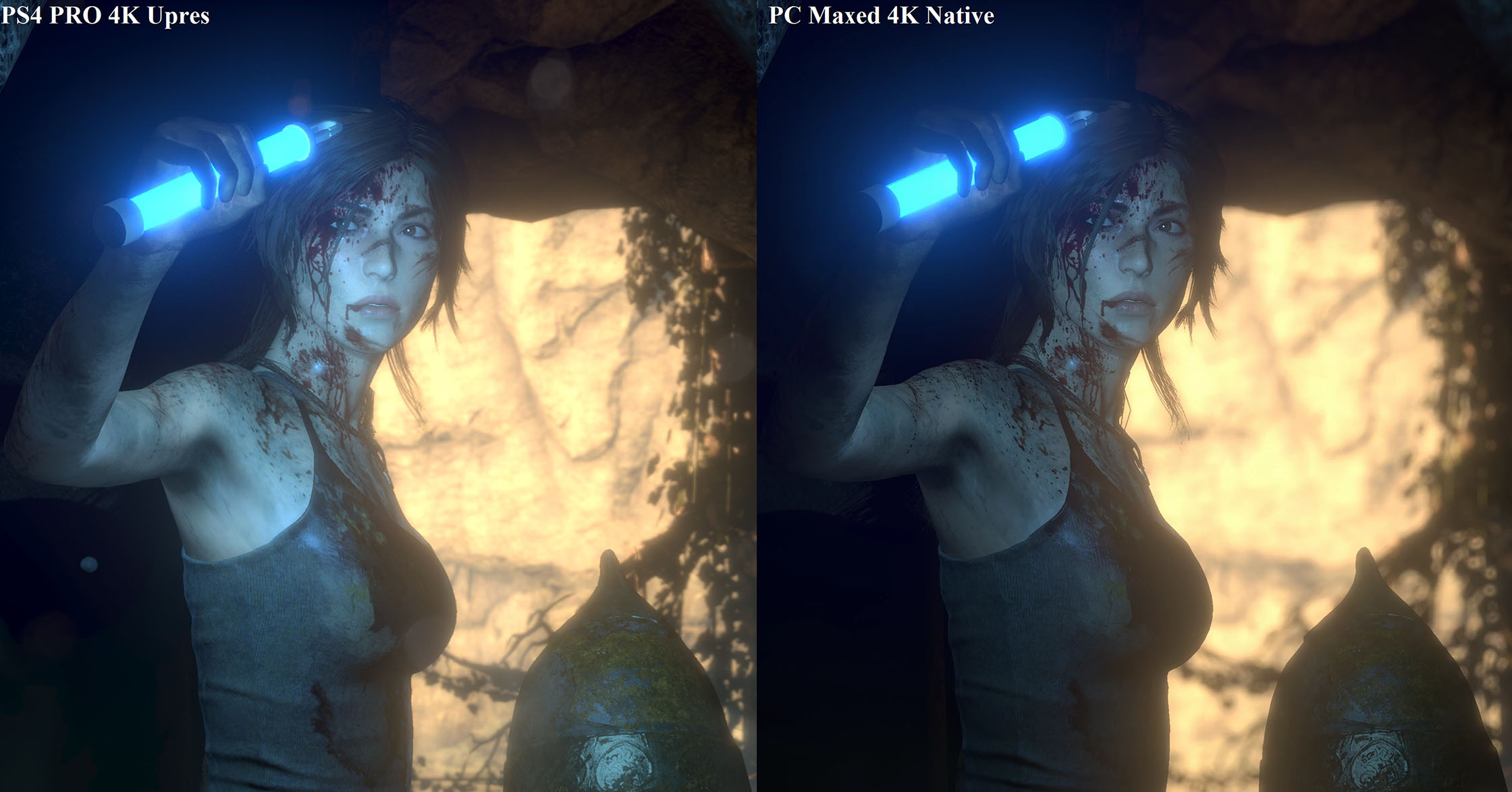 Comparativa Rise of the Tomb Raider