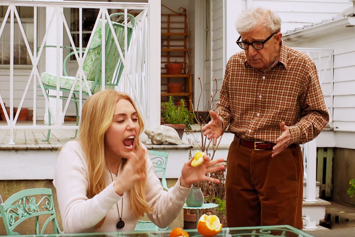 Woody Allen, Miley Cyrus, Amazon