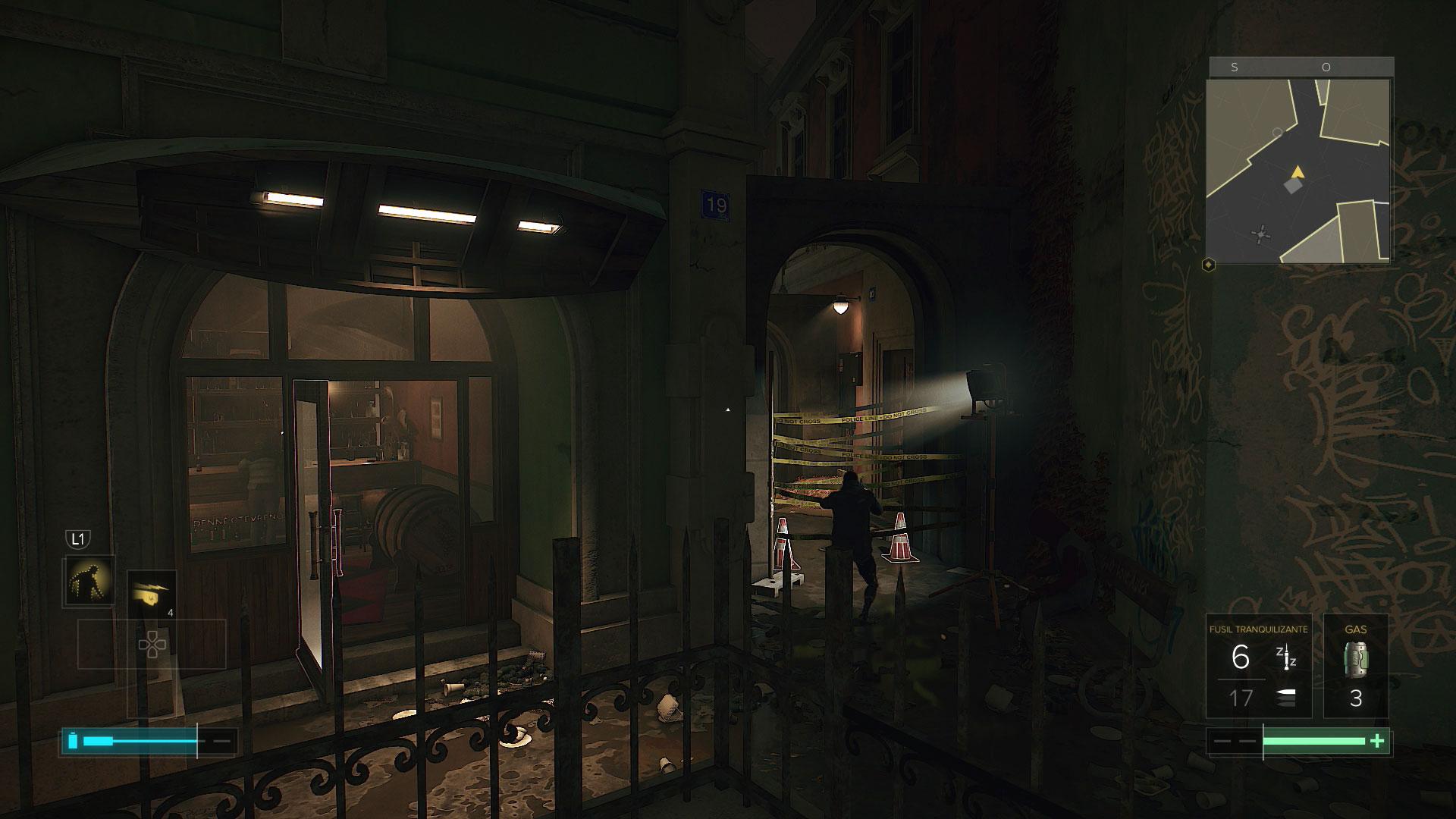 Deus Ex: Mankind Divided - Misiones secundarias