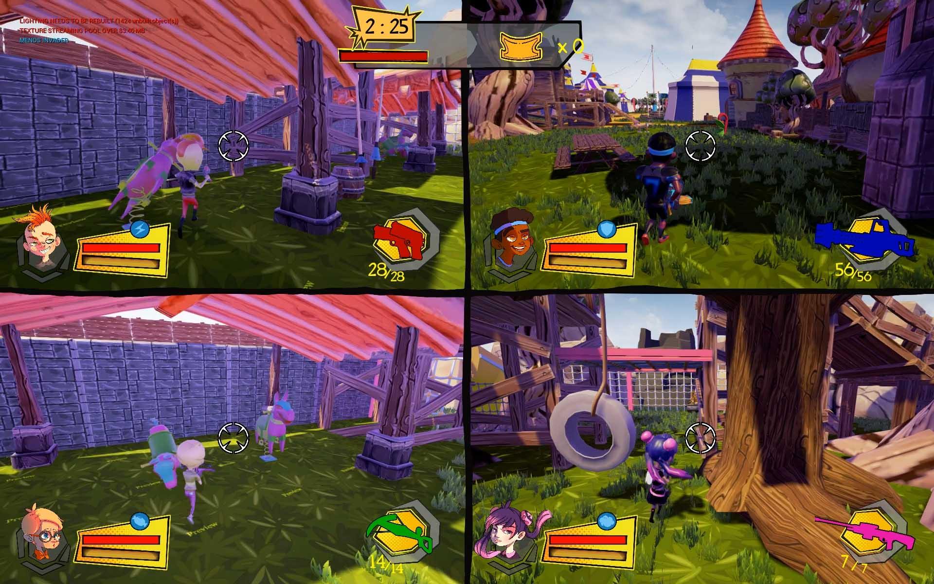 U-tad Diarios de Desarrollo Rascal Revolt Seamantis Games