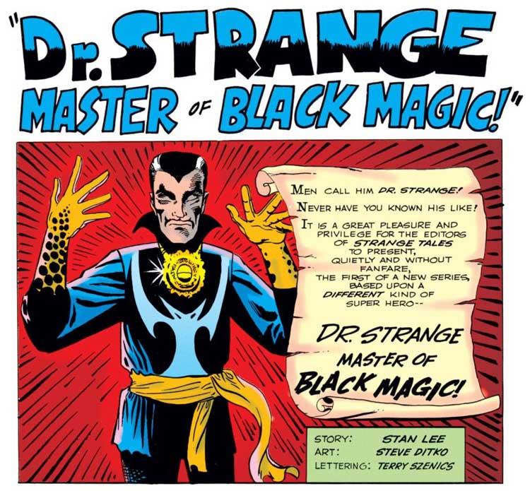 Doctor Extraño Comics originales