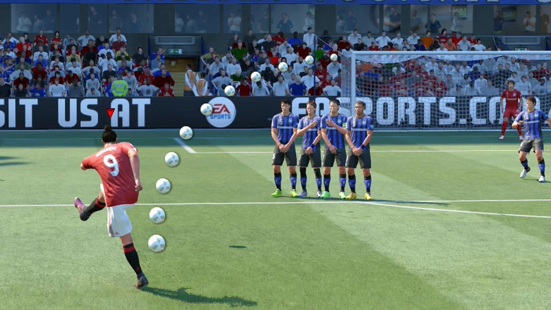 FIFA 17 faults