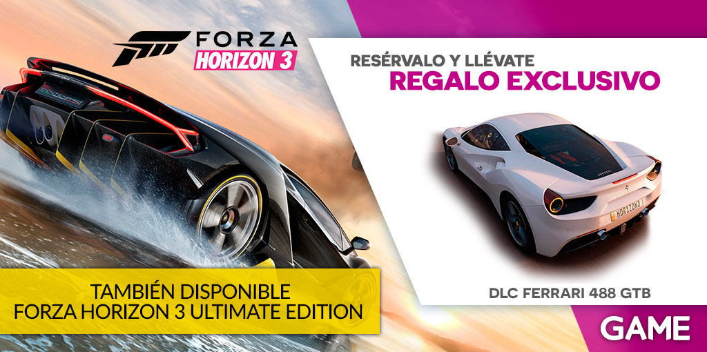 Forza Horizon 3 GAME