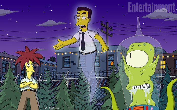 Frank Grimes vuelve a Los Simpson