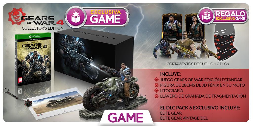 Gears of War 4 edición coleccionista