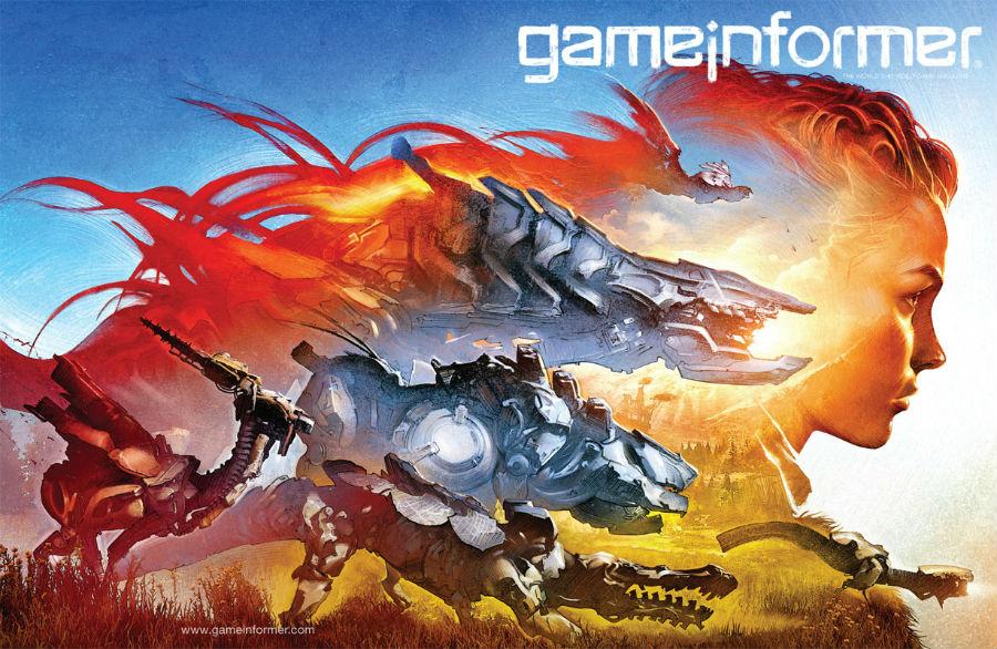Horizon Zero Dawn Game Informer