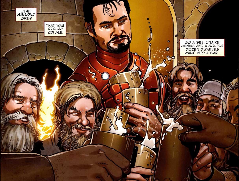 Iron Man miedo Encarnado