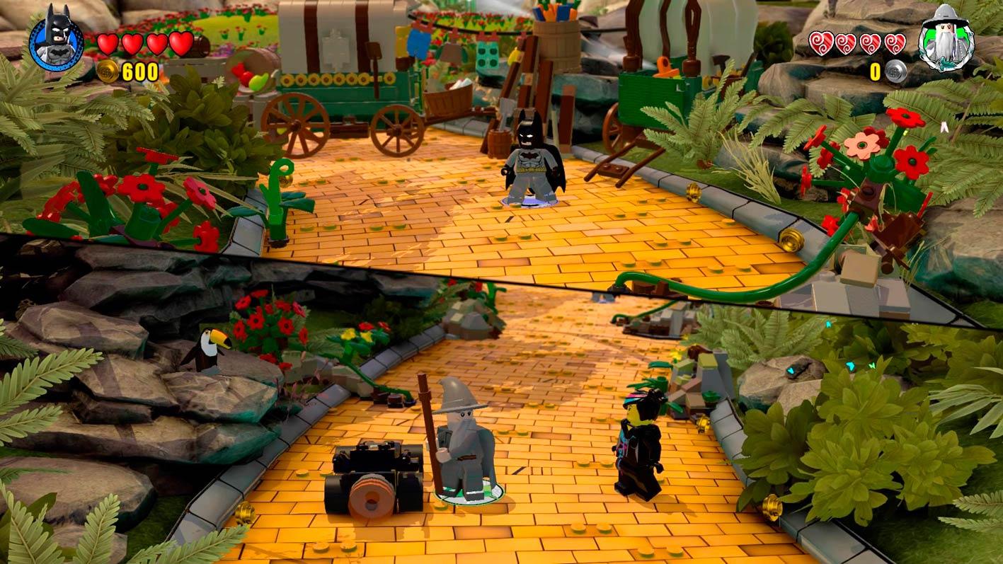 LEGO Dimensions cooperativo
