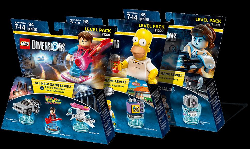 LEGO Dimensions Level Packs
