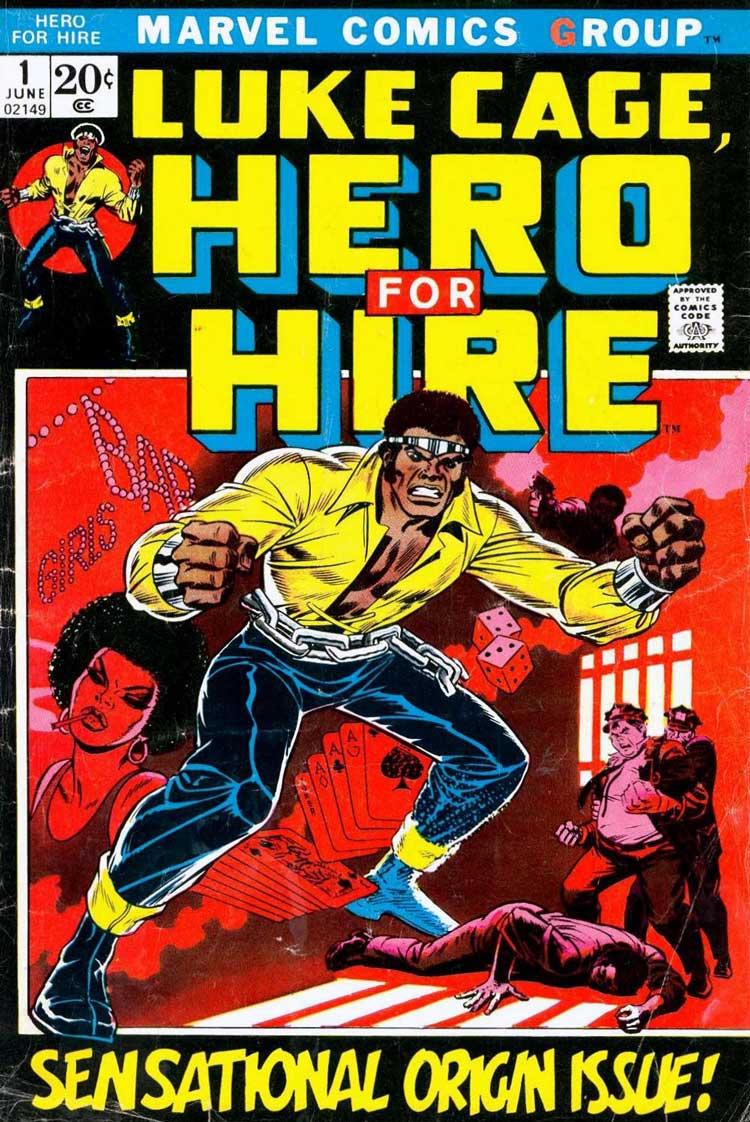 Luke Cage - cómic Primera aparición