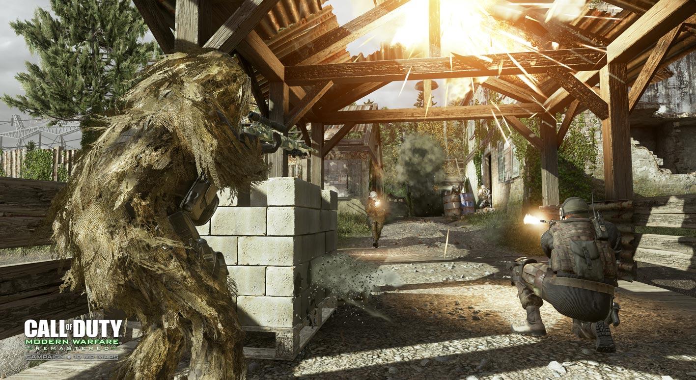 Modern Warfare Remastered CODXP 4