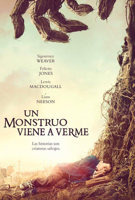 Un monstruo viene a verme (2016) - Cartel