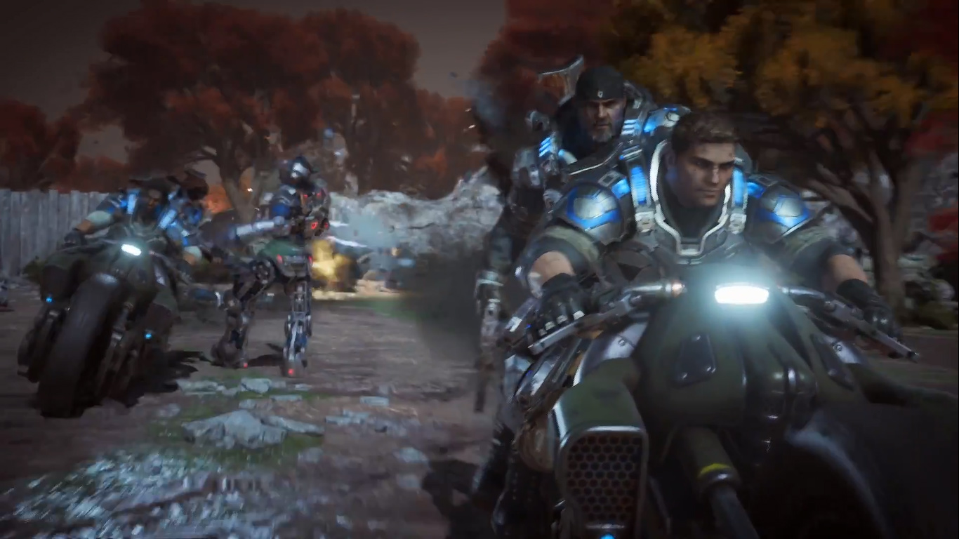 Motos de Gears of War 4