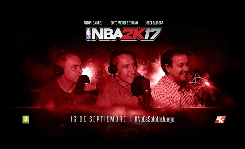 NBA 2K17 español