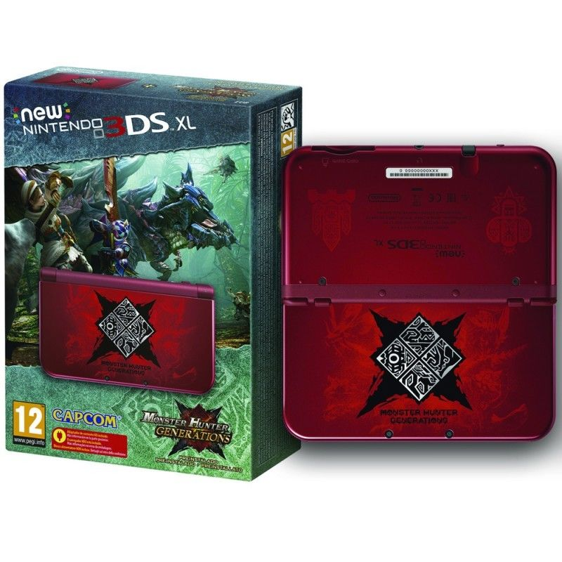 New Nintendo 3DS XL Monster Hunter Generations Edition eBay