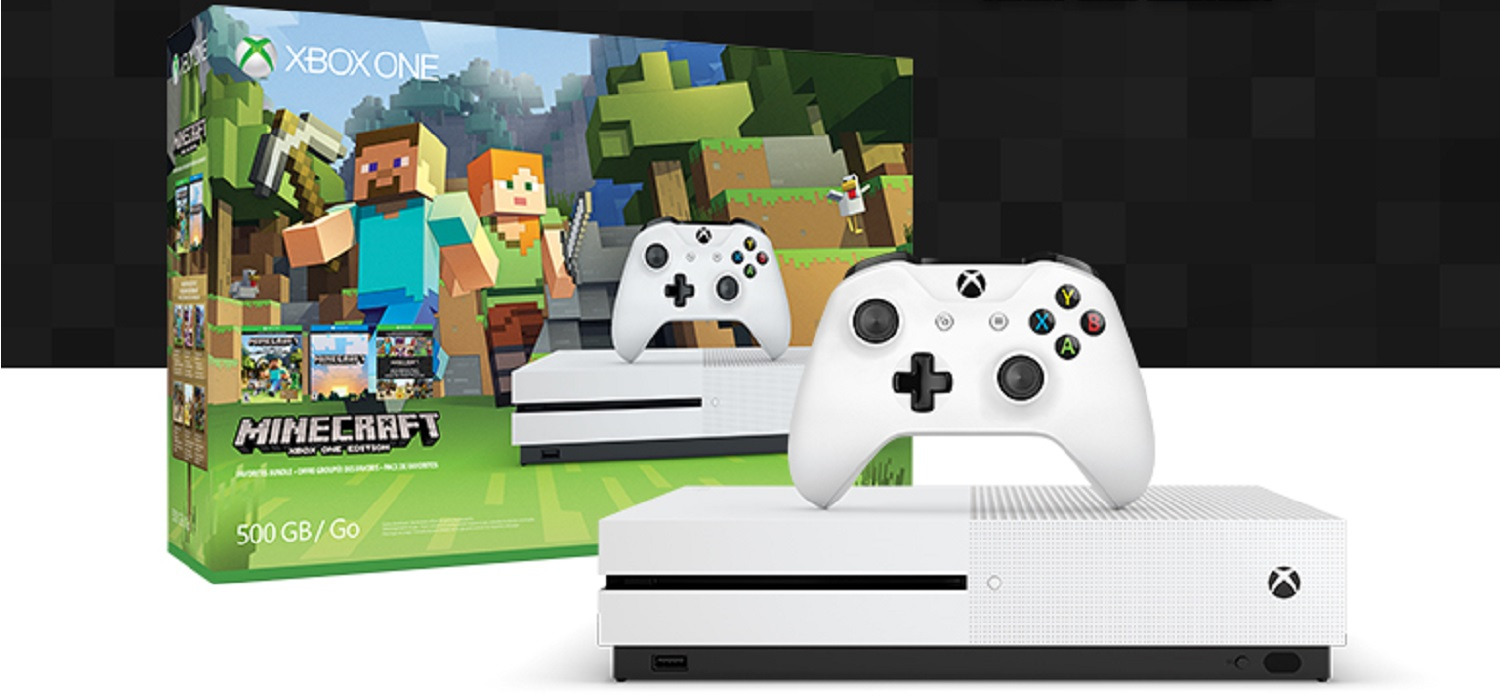 xbox one s nuevo pack con minecraft anunciado por. Black Bedroom Furniture Sets. Home Design Ideas