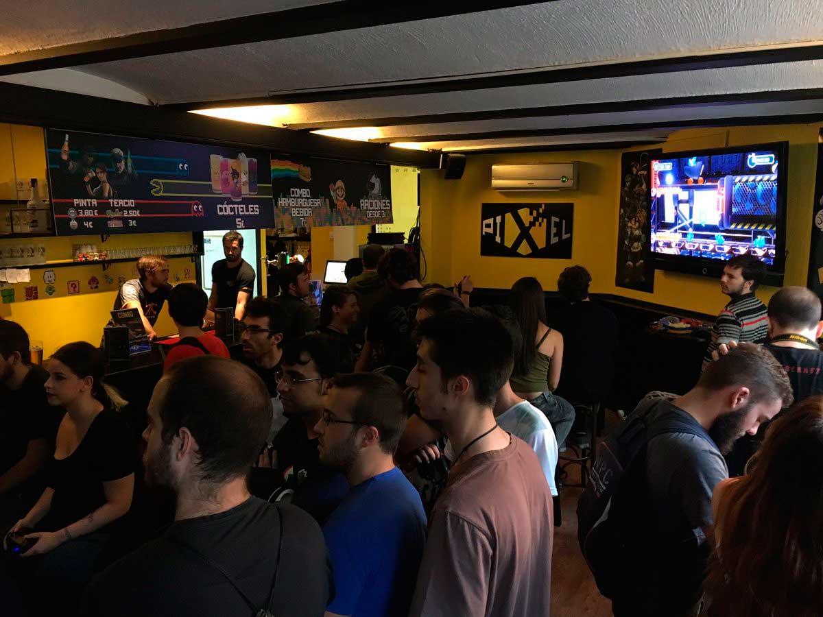 Pixel Bar Madrid