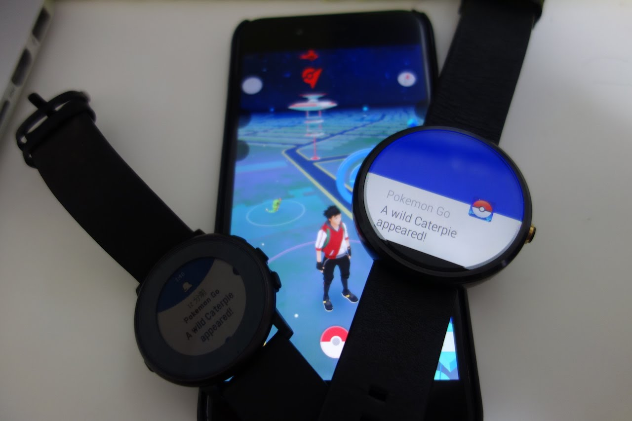 Pokémon Go - Android Smartwatch