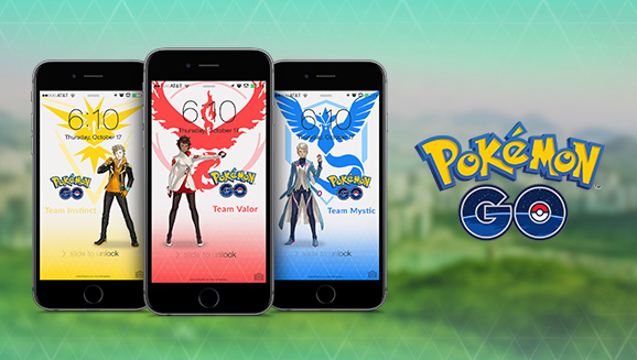 Pokémon Go fondos de pantalla