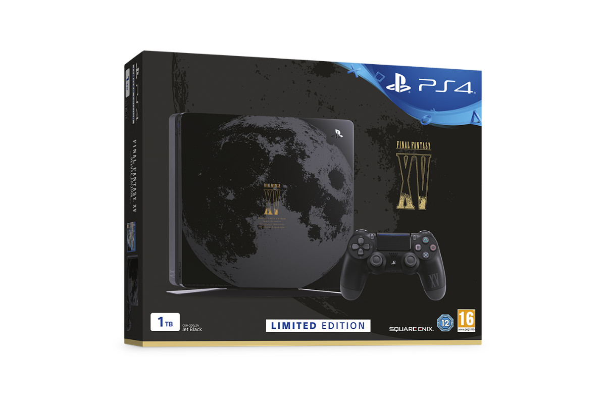 PS4 Edición Limitada de Final Fantasy XV