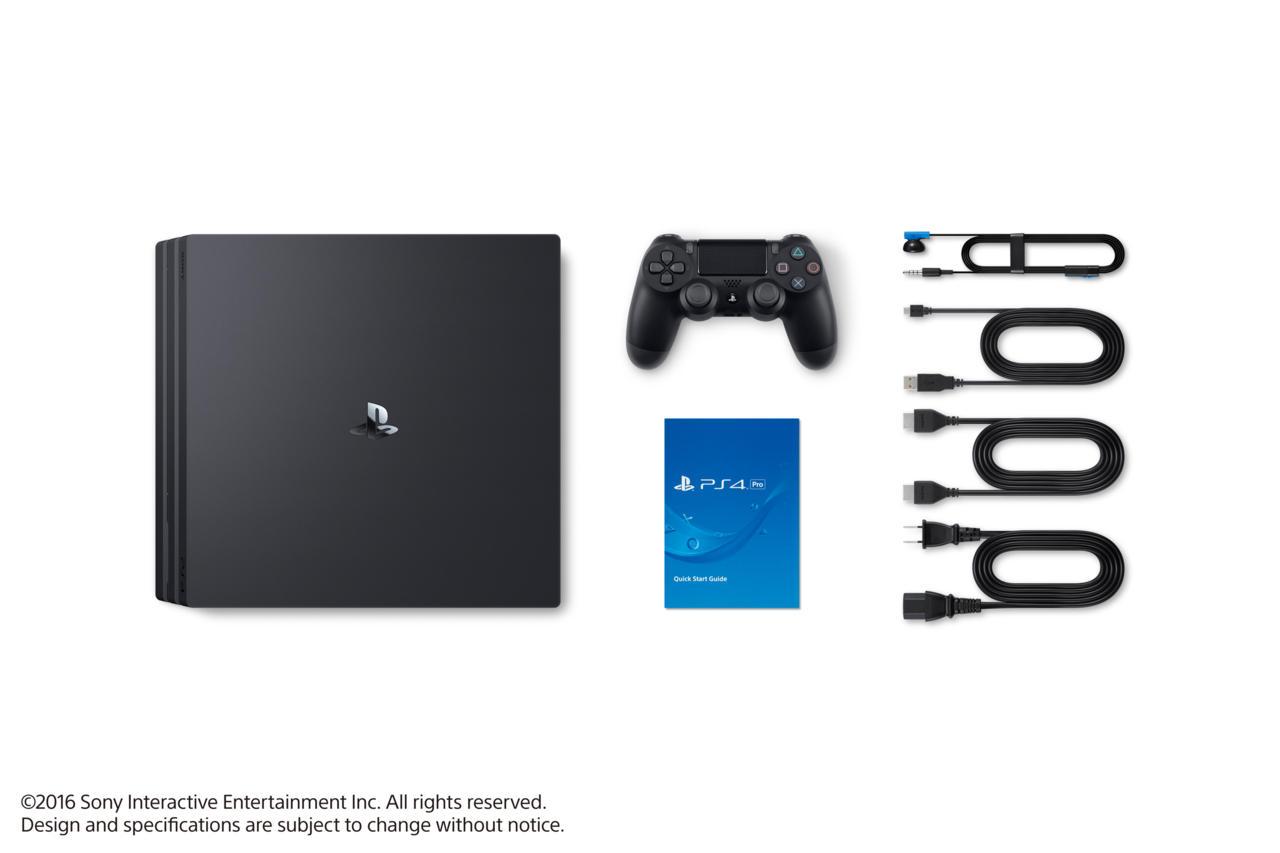 PS4 Pro detalle