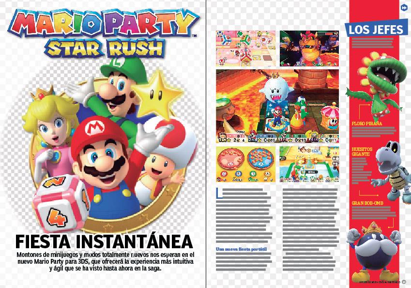 Reportaje Mario Party Star Rush